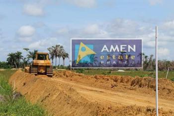 Commercial Plot, Amen Estate, Eleko Beach Road, Eleko, Ibeju Lekki, Lagos, Commercial Property for Sale