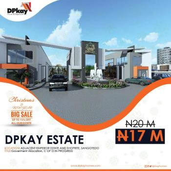 Estate Land for Sale in Ajah Lagos, Close to Business School,opposite Crown Estate & Emperor Estate Sangotedo* Directly Facing The New Shoprite, Sangotedo, Ajah, Lagos, Mixed-use Land for Sale