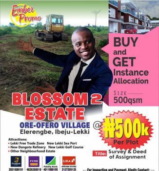 Estate Land for Sale in Ibeju Lekki Blossom 2 Estate, Eleranigbe, Ibeju Lekki, Lagos, Residential Land for Sale