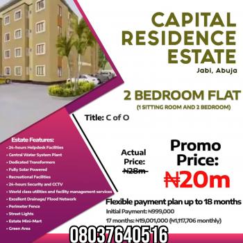 2 Bedroom Flat, Capital Residence Estate, Jabi, Abuja, Jabi, Abuja, Mini Flat for Sale