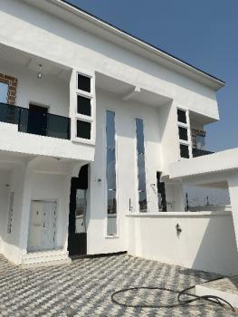 for Sale Semidetached Duplex with a Large Capark Located in Osapa London, Off Victory Park, Osapa, Lekki, Lagos, Semi-detached Duplex for Sale