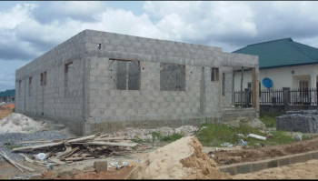 Uncompleted 3-bedroom Bungalow in Exclusive Plantation City, Otokutu Junction, Dsc Expressway, Warri, Delta, Detached Bungalow for Sale