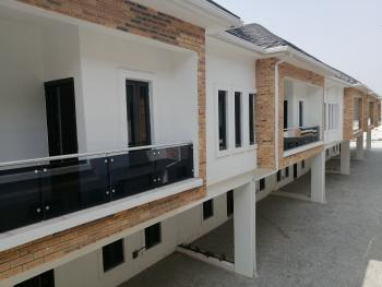 Tastefully Built Four Bedroom Terraced Duplex, Orchid Road, Lafiaji, Lekki, Lagos, Terraced Duplex for Sale