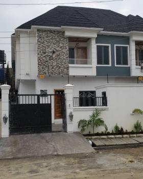 Brand New 4bedroom Duplex with a Room Bq, Osapa, Lekki, Lagos, Semi-detached Duplex for Rent