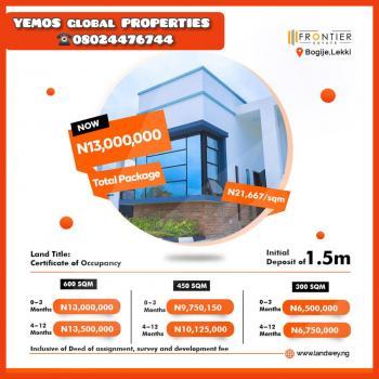 Land, Frontier Estate, Inside Beechwood Estate, Bogije, Sangotedo, Ajah, Lagos, Residential Land for Sale