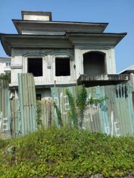 6 Bedrooms Uncompleted Detached House with 2 Room Servants Quarters, Parkview Estate, Parkview, Ikoyi, Lagos, Detached Duplex for Sale