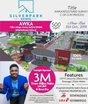 Estate Land, Opposite  Government House and  Behind British International School, Awka, Anambra, Residential Land for Sale