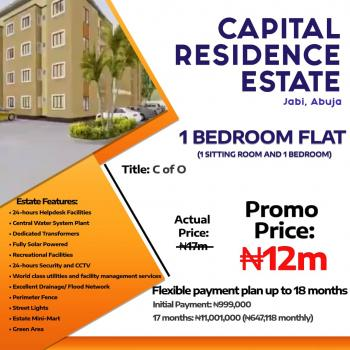 1 Bedroom Flat (1 Sitting Room and 1 Bedroom) with a Flexible Payment Plan, Jabi, Abuja, Block of Flats for Sale