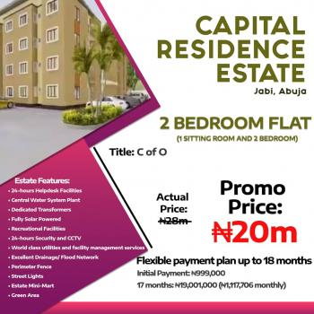 2 Bedroom Flat  1 Sitting Room and 2 Bedroom with Cofo, Jabi, Abuja, Block of Flats for Sale
