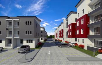 4 Bedrooms Terraced Duplex with a Room Bq, Bayview Estate, Ikate Elegushi, Lekki, Lagos, Terraced Duplex for Sale
