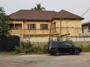 an Uncompleted Block of 2 Units of 3 Bedroom Flats Sitting on 600sqm Land., Ilupeju Estate, Ilupeju, Lagos, Block of Flats for Sale