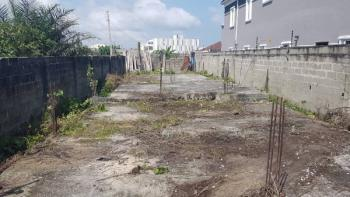 Half Plot of Land with Foundation, Behind Lagos Business School, Olokonla, Ajah, Lagos, Residential Land for Sale
