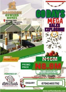 3 Bedroom Semi-detached Bungalow, Idiagbon-town Opp Lufasi Park Majek B/stop), Abijo, Lekki, Lagos, Semi-detached Bungalow for Sale