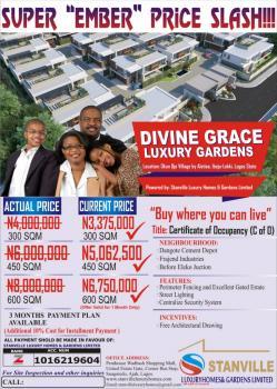 Land with C of O  Devine Grace Luxury Gardens, Okun Ojeh Village, Alatise, Ibeju Lekki, Lagos, Commercial Land for Sale