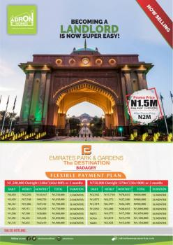 Emirates Park and Garden, Topo, Along Ascon Road, Aradagun, Badagry, Lagos, Mixed-use Land for Sale