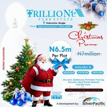 Trillion Park Estate, Alatishe, Bogije, Ibeju Lekki, Lagos, Commercial Land for Sale