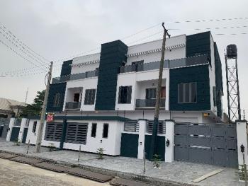 Contemporary and Modern (5) Bedroom Semi-detached Duplex with 1 Room Bq, Lekki Phase 1, Lekki, Lagos, Semi-detached Duplex for Sale