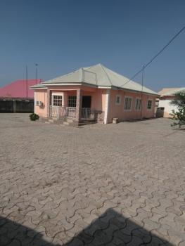 Luxury 3 Bedroom Bungalow Fully Detached with a Fully Furnished Restaurant in The Same Coumpand with Land Size of 100/100, By Laila Jesuit College Karu Road, Karshi, Abuja, Detached Bungalow for Sale