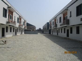 3 Bedroom Terrace Duplex with a Room Bq and Excellent Facilities, Lafiaji, Lekki, Lagos, Terraced Duplex for Sale