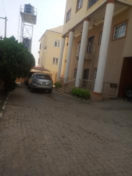 Massive 3 Bedroom Flat, Behind Naval Quarters Water Street Kado, Kado, Abuja, Flat for Rent