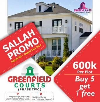 100% Dry Land, Igbogun Town, Ibeju Lekki, Lagos, Mixed-use Land for Sale