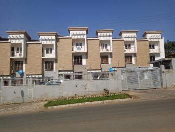 4bedroom Terrace Duplex with an Attached Bq, After Coza Church, Guzape District, Abuja, Terraced Duplex for Rent