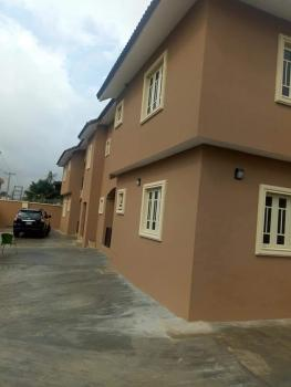 Well Maintained Block of 4nos 3bedroom Flat Property #80m Asking. with Registered Conveyance, William Estate, Akowonjo, Alimosho, Lagos, Block of Flats for Sale