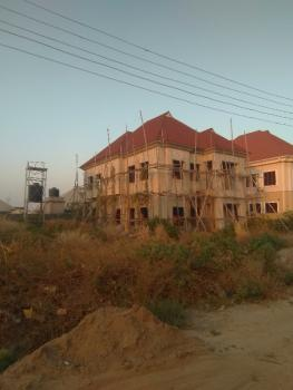 Carcass 4 Bedroom Detached Duplex with Bq, Off Von Road By Trademore, Lugbe District, Abuja, Detached Duplex for Sale