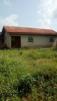 Well Built Mini Flat Setback on Full Plot & 4shops, Baden Filling Station, Ayobo, Lagos, Detached Bungalow for Sale