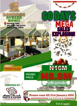 Gazette a Well Build 3bedroom Semi Detached Bungalow with Modern Touches and a Secured and Serene Estate, Idiagbon Town,opposite Fara Park Estate Majek, Crown Estate, Ajah, Lagos, Semi-detached Bungalow for Sale