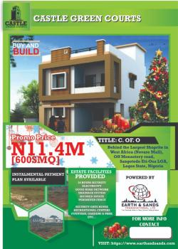 11.4 Million per 600sqm, Behind The Largest Shoprite in West Africa (novare Mall),off Monastery Road, Sangotedo Eti-osa Lga,, Sangotedo, Ajah, Lagos, Residential Land for Sale
