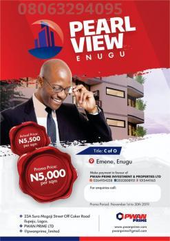 100% Dry Land with C of O, Emene, Enugu, Enugu, Mixed-use Land for Sale