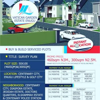 Estates Land, Portharcult Road  Sharing Neighborhood with Centenary City, Independence Layout, Enugu, Enugu, Residential Land for Sale