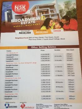 Broadview Estate, Broadview Estate, Karshi, Abuja, Residential Land for Sale