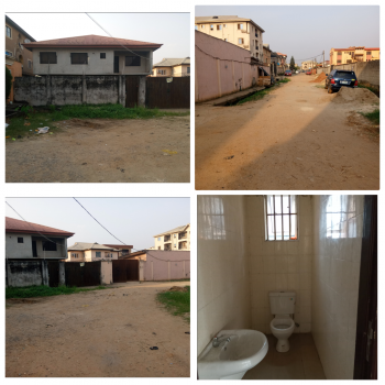 2 Wing of 4 Bedroom Duplex, Ago Palace, Isolo, Lagos, Detached Duplex for Sale