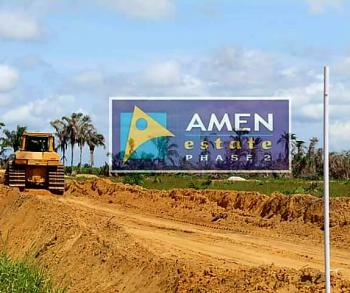 Commercial Land Available in a Lovely Estate, Eleko, Ibeju Lekki, Lagos, Commercial Land for Sale