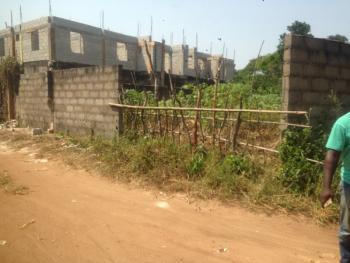 Empty Corner Piece Land Fenced Right Round, at Federal Housing, Road 7 Extension, New Owerri, Owerri, Imo, Residential Land for Sale