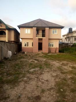 Setback Duplex on Full Plot of Land, Ago Palace, Isolo, Lagos, Detached Duplex for Sale