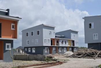 4 Bedroom Triplex (all Ensuite) + Bq., Oribanwa, Ibeju Lekki, Lagos, Terraced Duplex for Sale