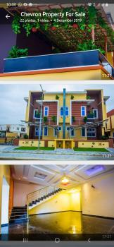 Newly Built Furnished Smart House in a Well Secure, Buena Vista Estate, Lekki Phase 1, Lekki, Lagos, Semi-detached Duplex for Sale