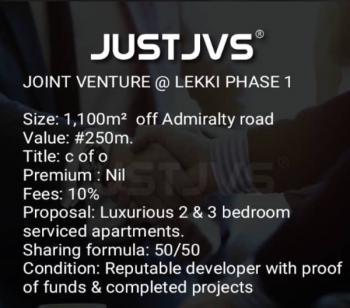 Land, Off Admiralty, Lekki Phase 1, Lekki, Lagos, Mixed-use Land Joint Venture