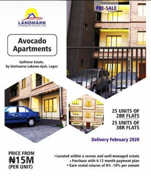 Avocado Apartments, By Golf Course, Lakowe,ajah, Ajah, Lagos, Block of Flats for Sale