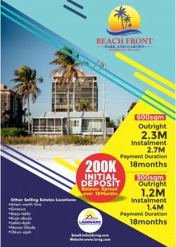 Beachfront Park and Gardens, Eleko, Ibeju Lekki, Lagos, Mixed-use Land for Sale