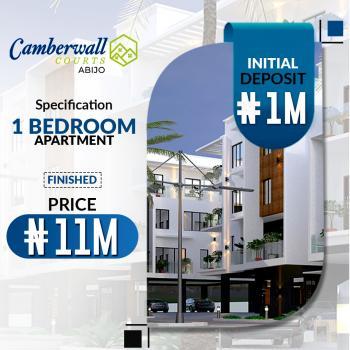 Luxury 1 Bedroom Apartment, Ajah, Abijo, Lekki, Lagos, Block of Flats for Sale