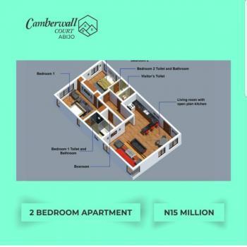 Luxury 2 Bedroom Apartment, Abijo, Lekki, Lagos, Block of Flats for Sale
