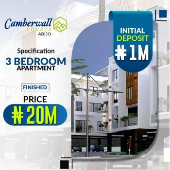 Luxury 3 Bedroom Apartment with Excellent Features, Abijo, Lekki, Lagos, Block of Flats for Sale