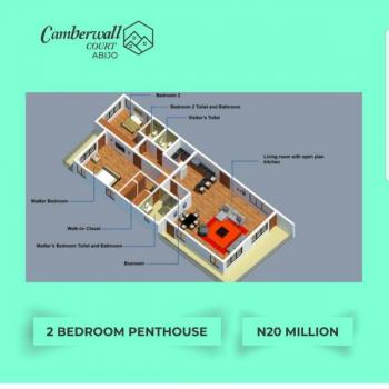 Luxury 2 Bedroom Apartment with Penthouse, Abijo, Lekki, Lagos, Block of Flats for Sale