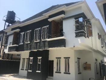 New 4 Bedroom Semi Detached with a Bq, Chevron Conservation Road, Lafiaji, Lekki, Lagos, Semi-detached Duplex for Sale