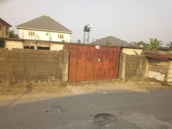 Fenced 2 Plots of Land with a Story Decking, East West Rd, By Overcomers, Chioba, Obio-akpor, Rivers, Mixed-use Land for Sale