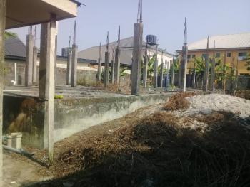 Land with Foundation, Behind Uba Pharmacy, Lekki-epe Expressway, Awoyaya, Ibeju Lekki, Lagos, Residential Land for Sale